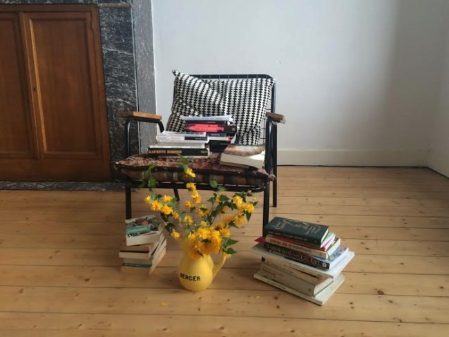 The spring reading club -
